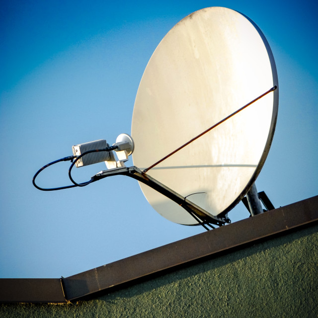 """Satellite Dish"" stock image"