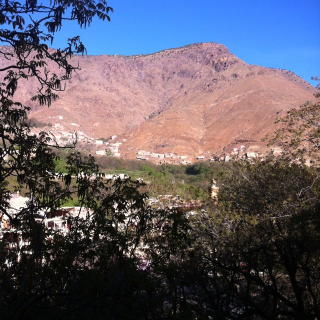 """Berber heights"" stock image"
