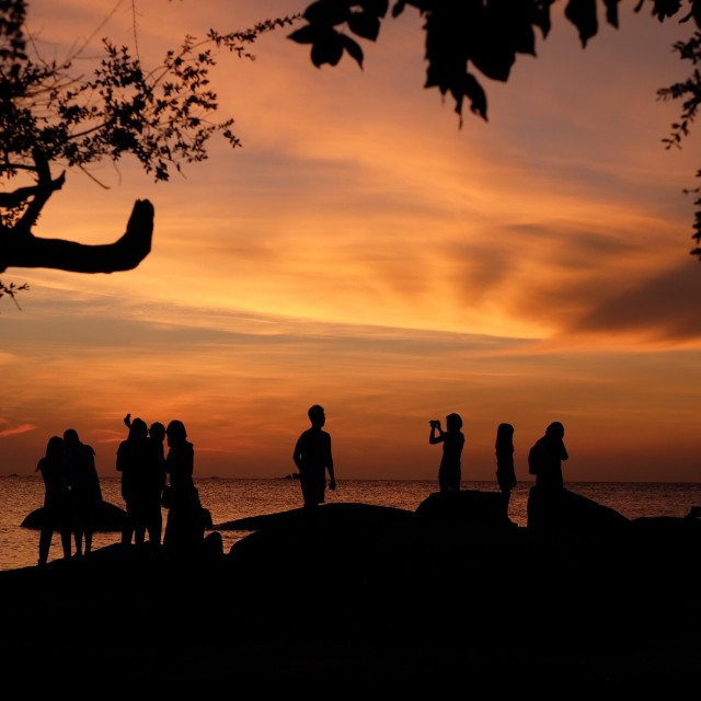 """""""after sunset 1"""" stock image"""