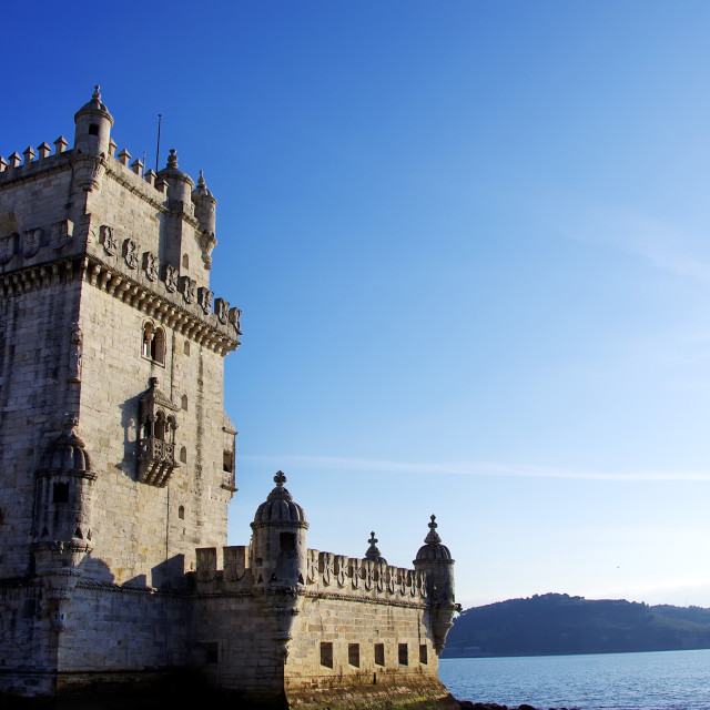 """Tower of Belem , Lisboa, Portugal"" stock image"