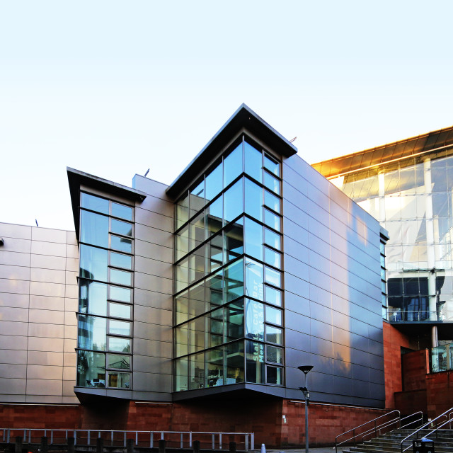 """Bridgewater Hall, Manchester"" stock image"