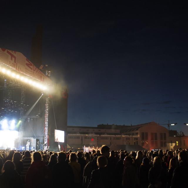 """Flow Festival"" stock image"
