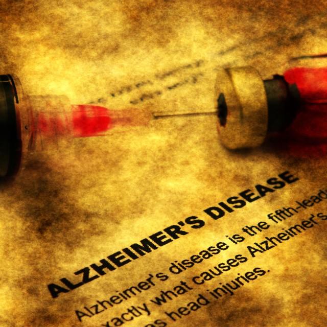 """""""Alzheimer disease"""" stock image"""