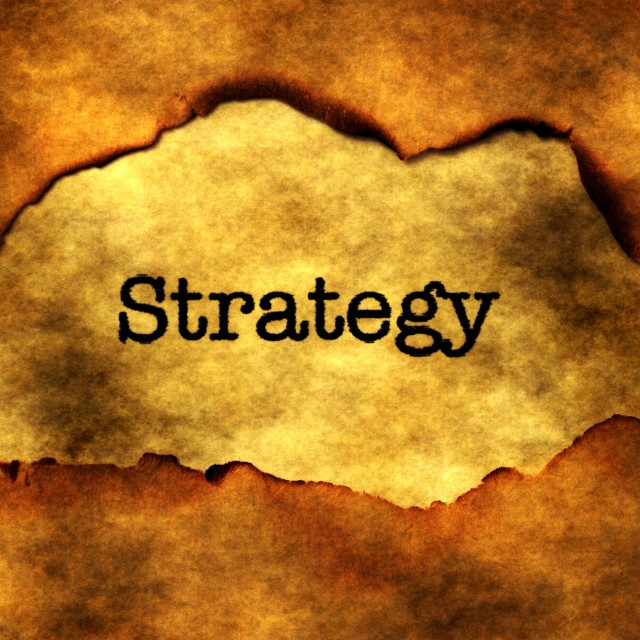 """Strategy concept"" stock image"