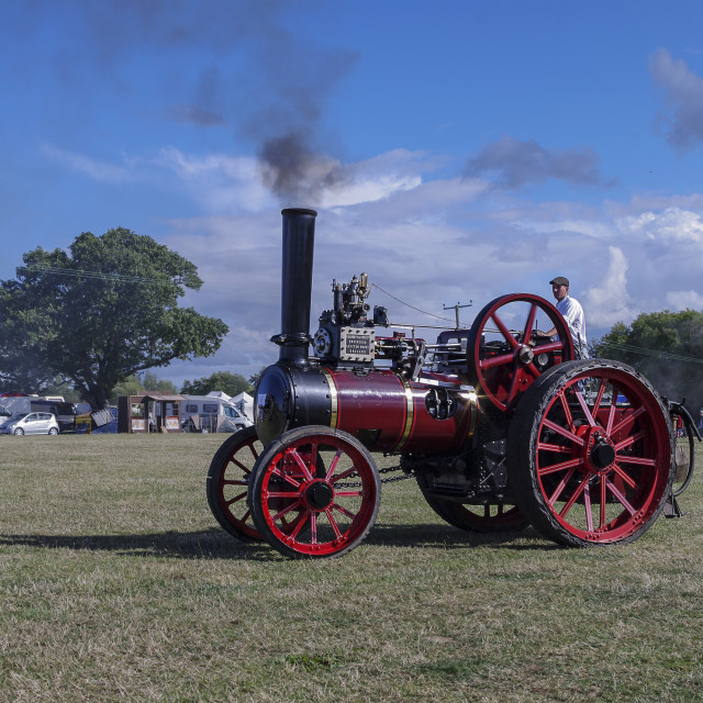 """Garrett agricultural engine"" stock image"