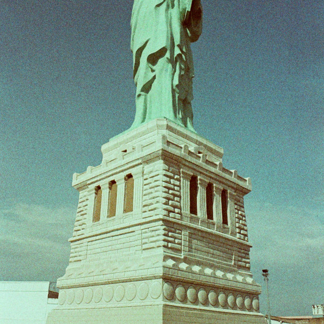 """The statue of liberty(copy)"" stock image"
