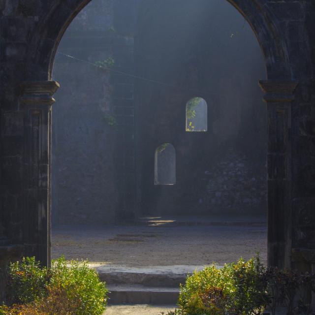"""""""Vasai Fort"""" stock image"""