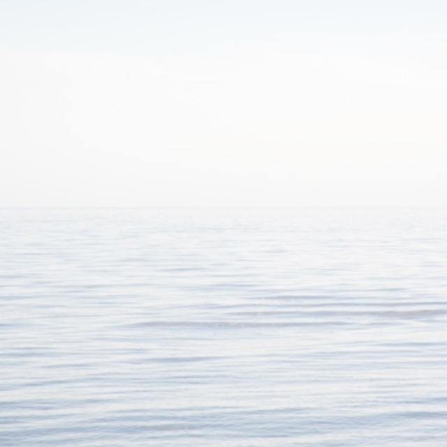 """""""Blurry sea and sky background"""" stock image"""