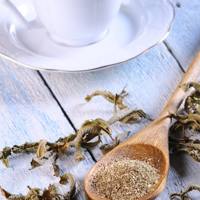 """Chamomile and tea."" stock image"