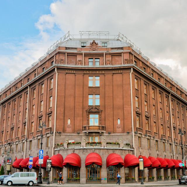"""Hotel Astoria"" stock image"