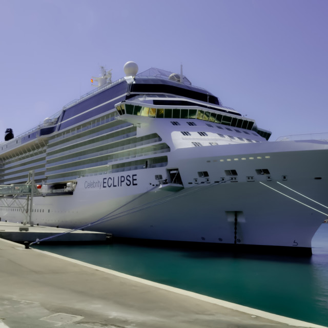 """Celebrity Eclipse"" stock image"