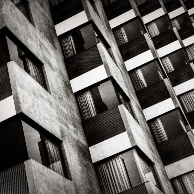 """High-Rise Geometry"" stock image"