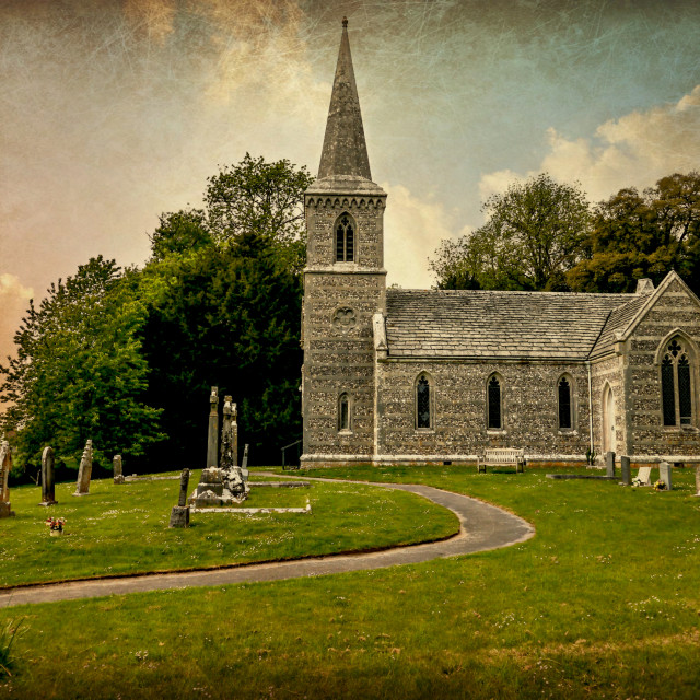 """Church of St Nicholas"" stock image"