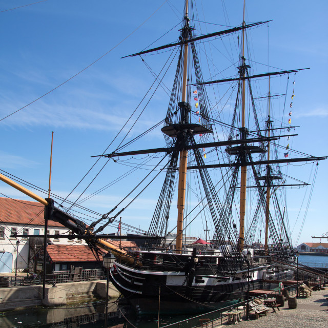 """HMS Trincomalee"" stock image"