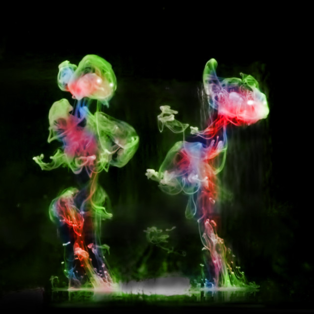 """""""Dance of the Fairies"""" stock image"""