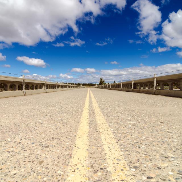 """""""Abandoned Highway"""" stock image"""