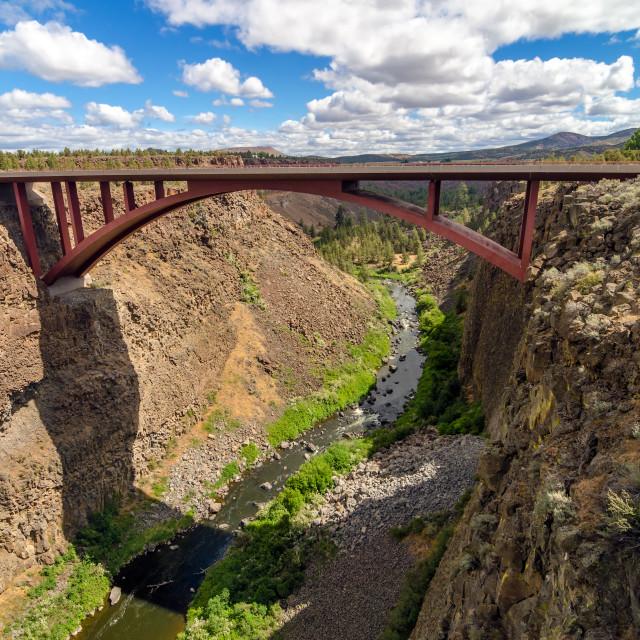 """Highway 97 Bridge"" stock image"