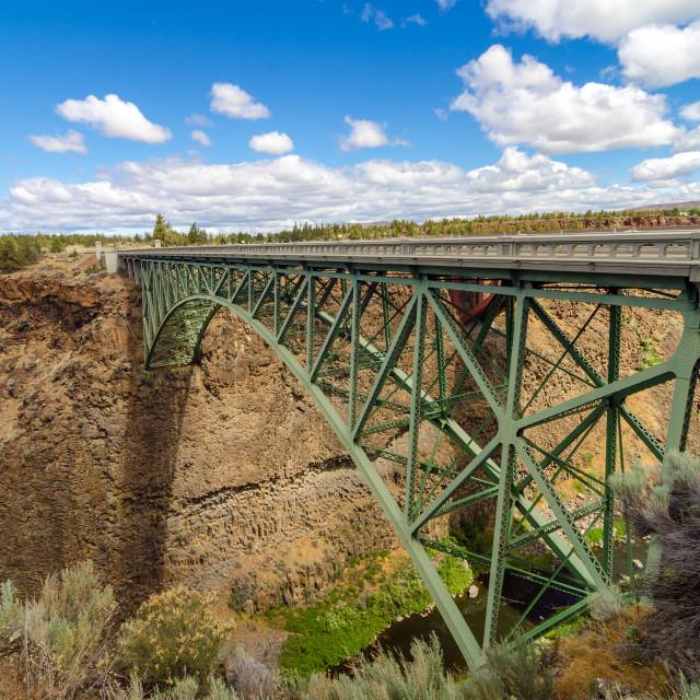 """Historic Highway Bridge"" stock image"