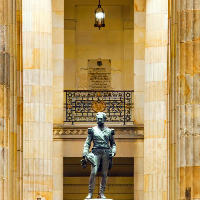 """Colombian Senate Building"" stock image"