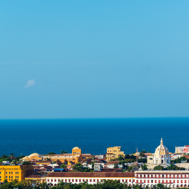 """Historic Center of Cartagena"" stock image"