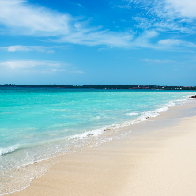 """""""Turquoise Caribbean Water"""" stock image"""