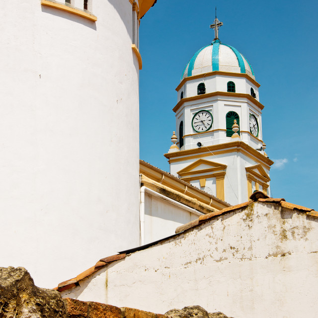 """""""Chia, Colombia Cathedral"""" stock image"""