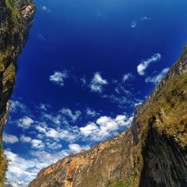 """Sumidero Canyon"" stock image"