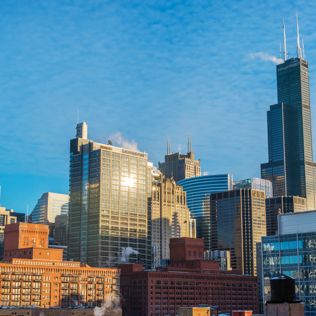 """""""Chicago Cityscape During the Day"""" stock image"""