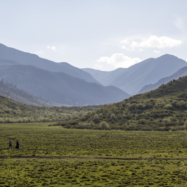 """Beautiful landscape of sichuan, China"" stock image"