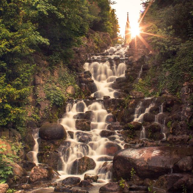 """""""Waterfall II"""" stock image"""