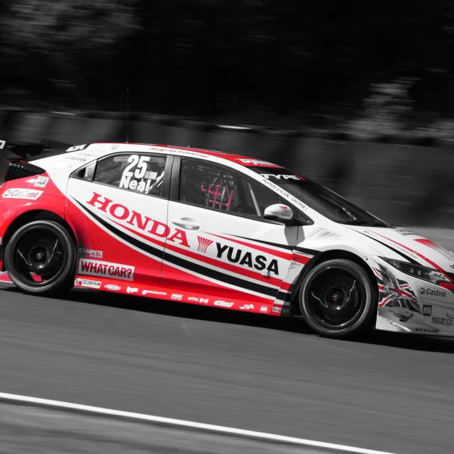 """Yuasa Honda Civic"" stock image"