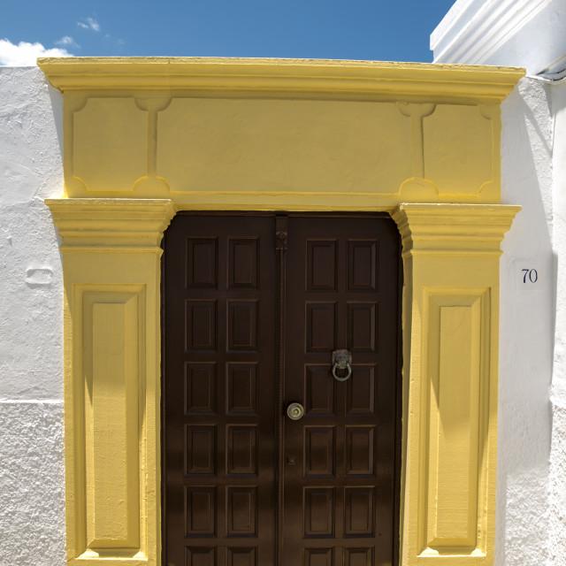 """""""Old pattern door"""" stock image"""