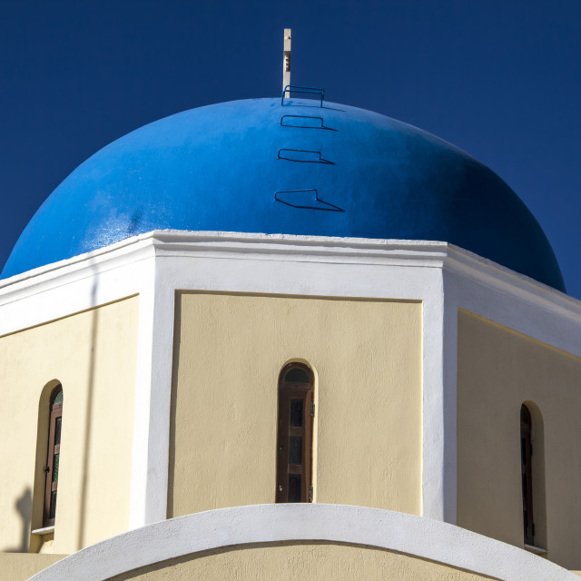 """""""Church in Oia"""" stock image"""