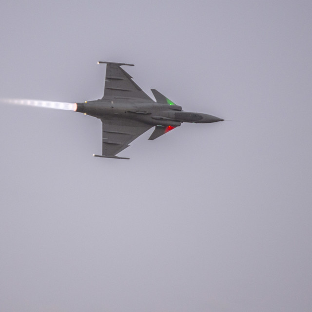 """Saab JAS 39 Griffin"" stock image"