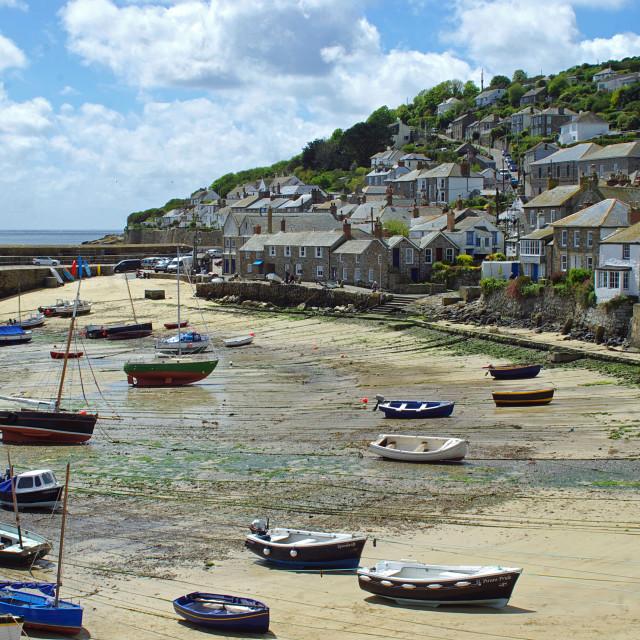 """Mousehole, Cornwall"" stock image"