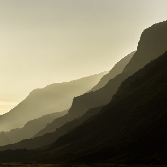 """Golden Glencoe"" stock image"