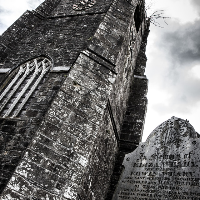 """St.Neot Cornwall 1"" stock image"