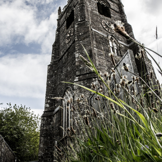 """St.Neot Cornwall 2"" stock image"