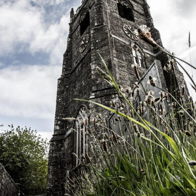 """St.Neot Cornwall 2"" stock image"