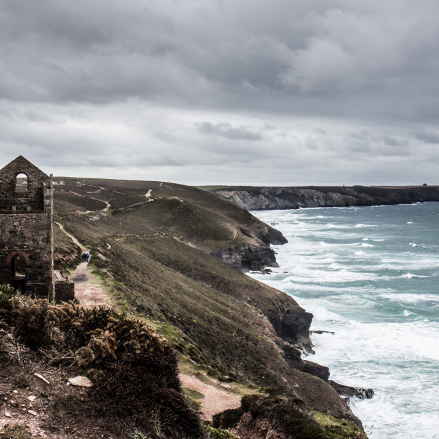 """Wheal Coates, Cornwall"" stock image"