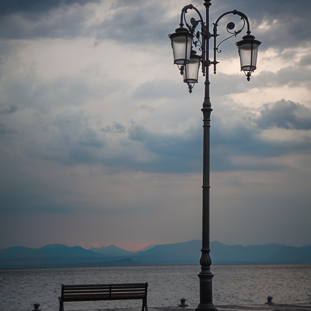 """Lake Lantern"" stock image"