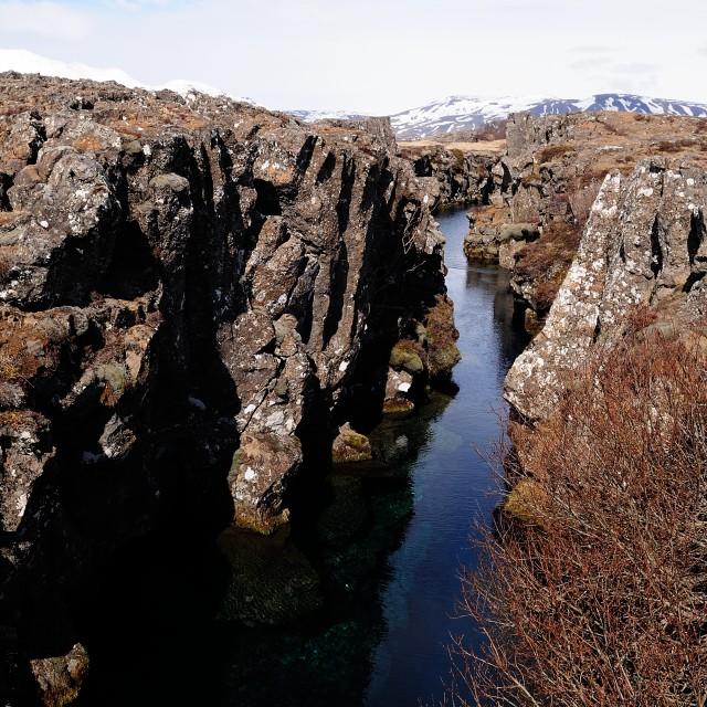 """Sublime Iceland"" stock image"