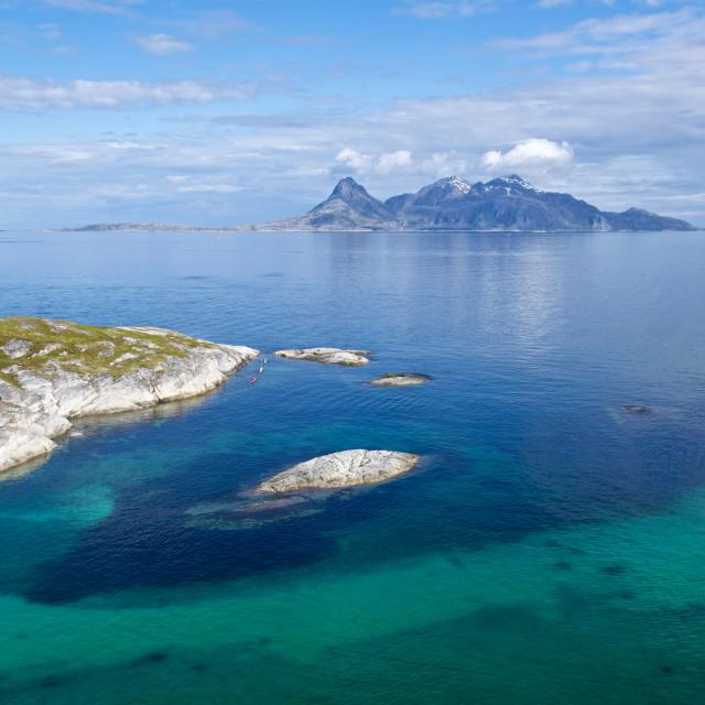 """""""Landegode outside Bodø"""" stock image"""