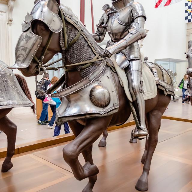 """Medieval Armor"" stock image"