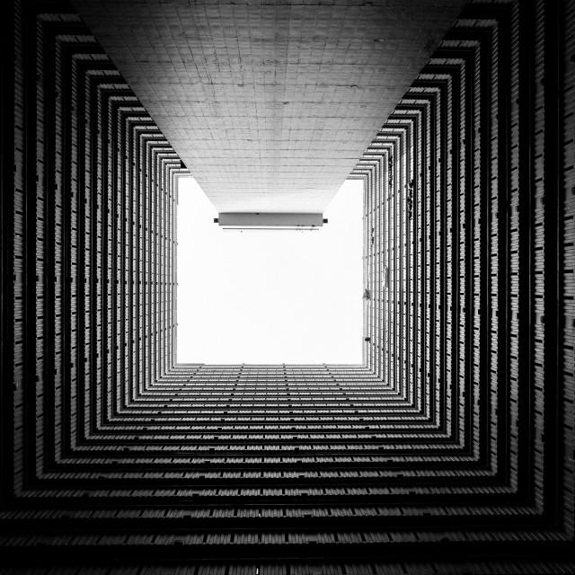 """Square of light"" stock image"