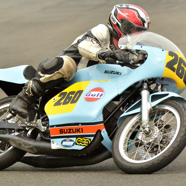 """Classic racing"" stock image"