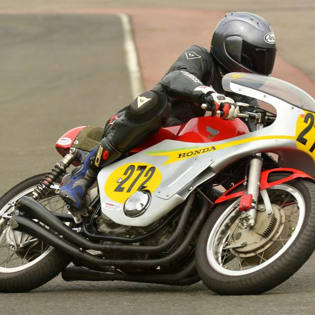 """Classic motor-racing"" stock image"