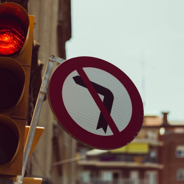 """""""Red lights"""" stock image"""