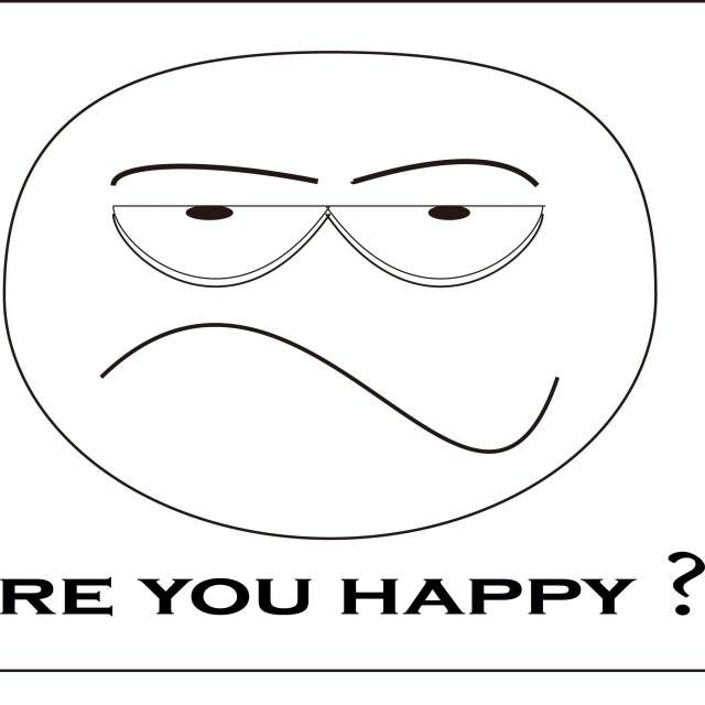 """unhappy"" stock image"