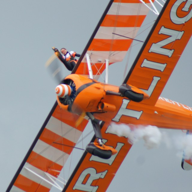 """Breitling Wing Walker"" stock image"